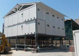 Vestuarios prefabricados modulares
