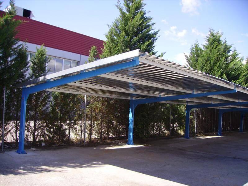 Marquesinas de parking proyectos realizados prefabri africa - Marquesinas para terrazas ...