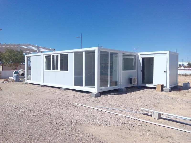 Oficinas modulares en murcia prefabri africa for Oficinas correos murcia
