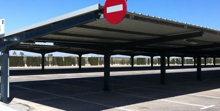 EUROPA PREFABRI- Marquesina de parking