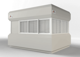 Prefabricated Security Guard Cabins prefabri africa