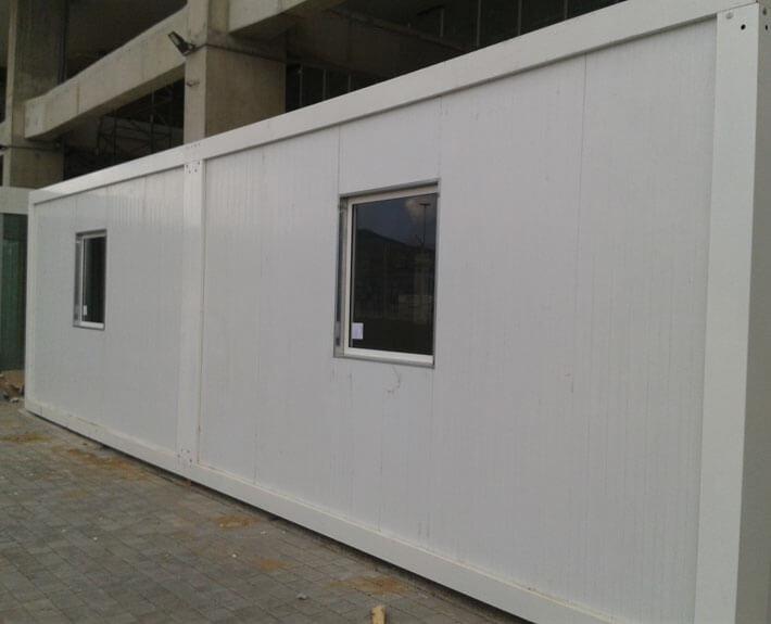 edificio modular para el puerto de tanger