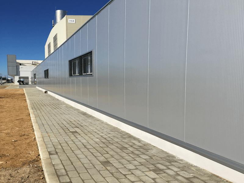 edificio modular prefabricado para airbus en sevilla