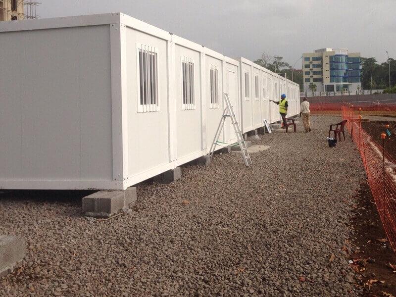 oficinas modulares en guinea ecuatorial